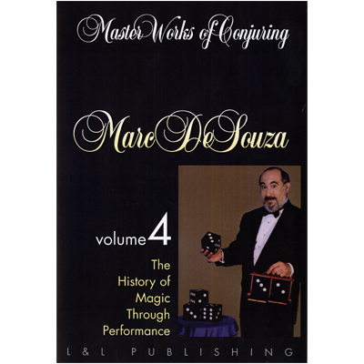 Master Works of Conjuring Vol. 4 by Marc DeSouza video DOWNLOAD