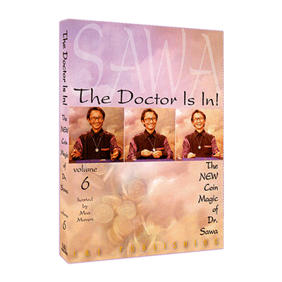 The Doctor Is In The New Coin Magic of Dr. Sawa Vol 6 video DOWNLOAD