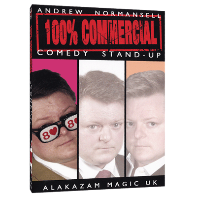 100 percent Commercial Volume 1 Comedy Stand Up by Andrew Normansell video DOWNLOAD