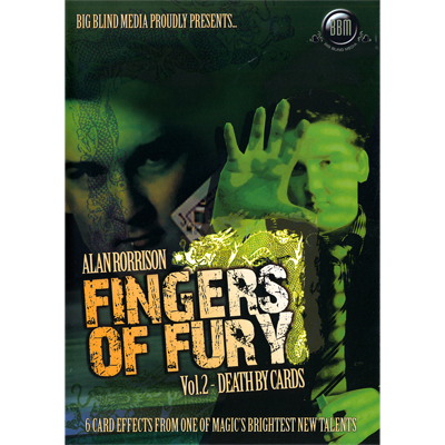 Fingers of Fury Vol.2 (Death By Cards) Video DOWNLOAD