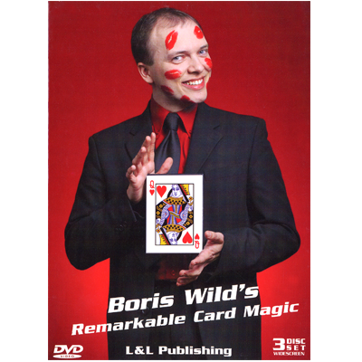 Remarkable Card Magic (3 Vol Set) by Boris Wild Streaming Video