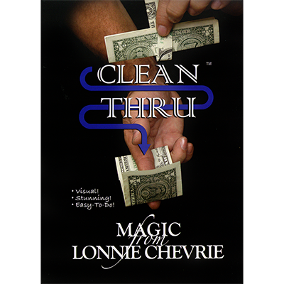 Clean Thru Clear Thru by Lonnie Chevrie and Kozmo Magic video DOWNLOAD