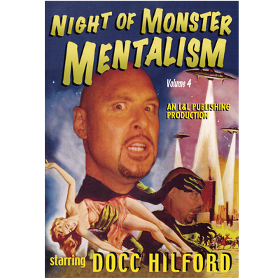 Night Of Monster Mentalism - Vol 4 By Docc Hilford Streaming Video