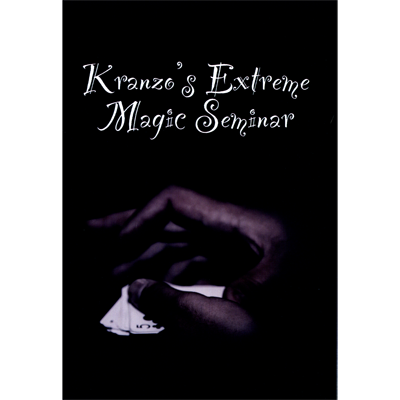 Extreme Magic Seminar By Nathan Kranzo Streaming Video