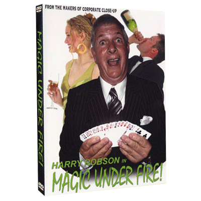 Magic Under Fire by Harry Robson & RSVP - video - DOWNLOAD