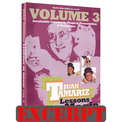 4 Aces video DOWNLOAD (Excerpt of Lessons in Magic Volume 3 by Juan Tamariz - DVD)
