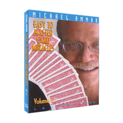Easy To Master Card Miracles Volume 8 by Michael Ammar video DOW