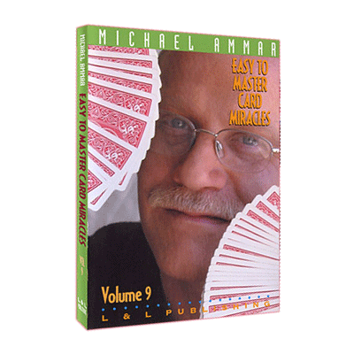 Easy to Master Card Miracles Volume 9 by Michael Ammar video DOW
