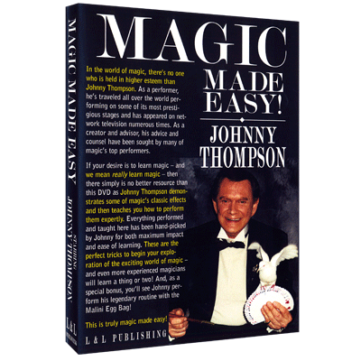 Johnny Thompsons Magic Made Easy by L&L Publishing video DOWNLOAD