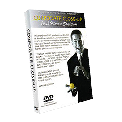 Corporate Close Up #1 Martin Sanderson & RSVP - - Video DOWNLOAD