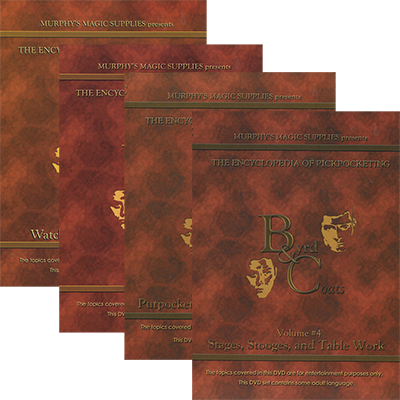 Encyclopedia Pickpocketing Set (Vol 1 al 4) - VIDEO DESCARGA