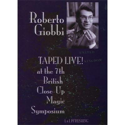 Roberto Giobbi Taped Live video DOWNLOAD