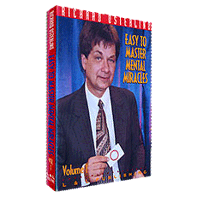 Easy to Master Mental Miracles Volume 1 by Richard Osterlind and L&L Publishing video DOWNLOAD