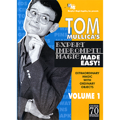 Mullica Expert Impromptu Magic Made Easy Tom Mullica - Volume 1 -  video DOWNLOAD