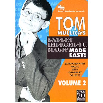 Mullica Expert Impromptu Magic Made Easy Tom Mullica - Volume 2 video DOWNLOAD