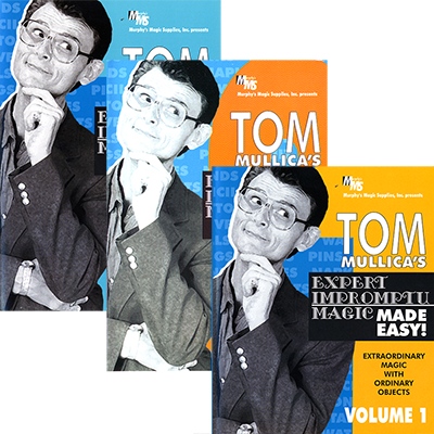 Mullica Expert Impromptu Magic Made Easy Set (Vol 1 thru 3)  Tom Mullica video DOWNLOAD