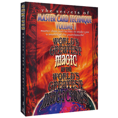 Master Card Technique Volume 1 (Worlds Greatest Magic) video DOWNLOAD