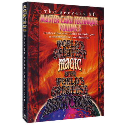 Master Card Technique Volume 3 (World's Greatest Magic) video DO