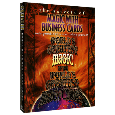 Magic with Business Cards (Worlds Greatest Magic) video DOWNLOAD