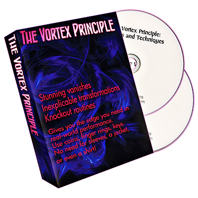 The Vortex Principle (Gimmick and DVDs) by Russell Hall - DVD