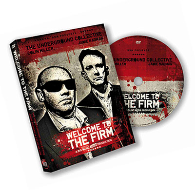 Welcome To The Firm by The Underground Collective & Big Blind Media - DVD