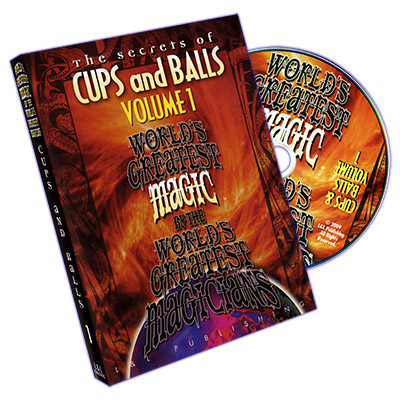 Cups and Balls Vol. 1 (World's Greatest) - DVD by L&l Publishing
