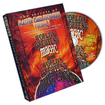 Tecnicas de Trucos de Magia con Cartas Vol. 1 (Worlds Greatest Magic)