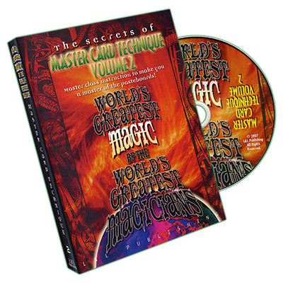 Master Card Technique Volume 2 (World's Greatest Magic) - DVD