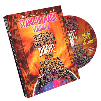 Stand-Up Magic - Volume 2 (World's Greatest Magic) - DVD