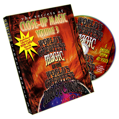 Close Up Magic #3 (World's Greatest Magic) - DVD