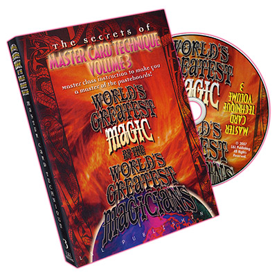 Master Card Technique Volume 3 (World's Greatest Magic) - DVD