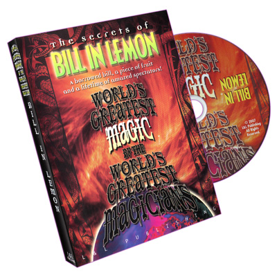 Bill In Lemon (World's Greatest Magic) - DVD