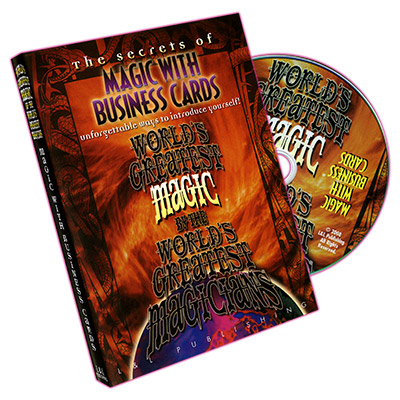 Magic with Business Cards (World's Greatest Magic) - DVD