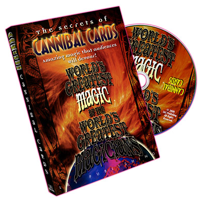 World's Greatest Magic: Cannibal Cards - DVD