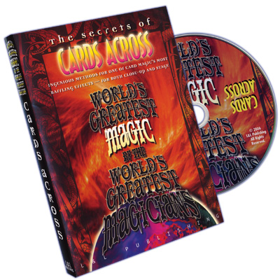 World's Greatest Magic: Cards Across - DVD