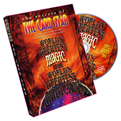 World's Greatest Magic: Card Stab - DVD