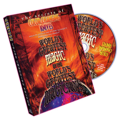 Color Changing Knives (World's Greatest Magic) - DVD