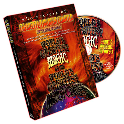 World's Greatest Magic: Cigarette Through Quarter - DVD