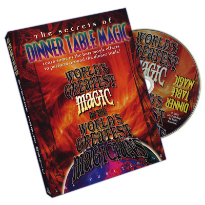 Dinner Table Magic (World's Greatest Magic) - DVD