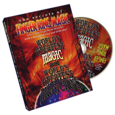 Finger Ring Magic (World's Greatest Magic) - DVD