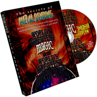 Metal Bending (World's Greatest Magic) - DVD