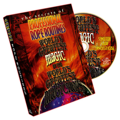 Professional Rope Routines (World's Greatest Magic) - DVD
