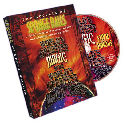 Sponge Balls (World's Greatest Magic) - DVD