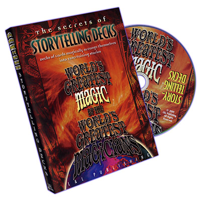 Storytelling Decks (World's Greatest Magic) - DVD