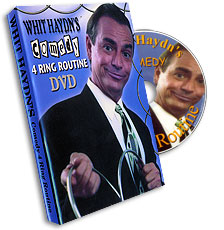 Comedy 4 Ring Linking Ring Routine Whit Haydn, DVD