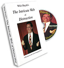 Intricate Web of Distraction Whit Hadyn, DVD