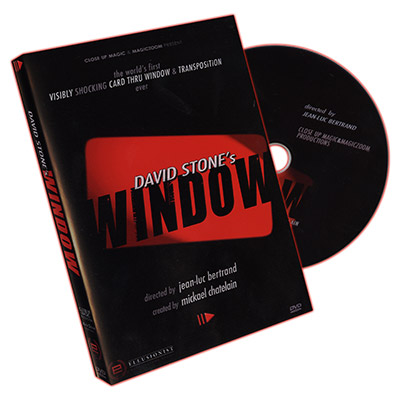 Window (Gimmicks and Online Instructions)  by David Stone - Trick