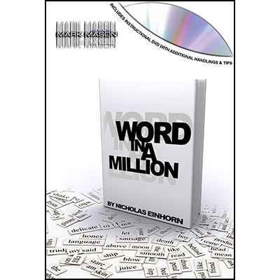 Word In A Million by Nicholas Einhorn and JB Magic- DVD