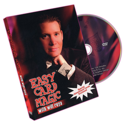 Easy Card Magic by Will Roya - DVD