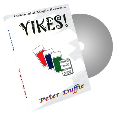 Yikes! - Wild-Colombini Magic - DVD